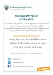 Can the Freedom Project help you?